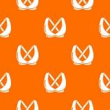 Orange de vecteur de mod?le de mode de soutien-gorge illustration stock