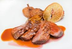 Orange de viande photo stock