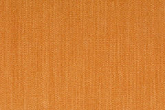 Orange decorative canvas fabric texture background, close up Stock Image