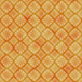 Orange decorative watercolored background pattern. Seamless pattern good for web pages or as wallpaper royalty free illustration