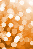 Orange defocused lights useful as a background. Good for website designs or texture. Stock Photo