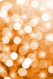 Orange defocused lights useful as a background. Good for website designs or texture Stock Photography