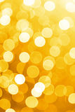 Orange defocused lights useful as a background. Good for website designs or texture. Royalty Free Stock Photo