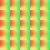 Orange des Musters abstrakte und grüne Farbe Lizenzfreies Stockbild