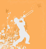 Orange  design Royalty Free Stock Photo