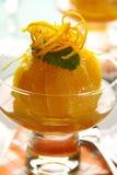 Orange Dessert Stock Images
