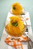 Orange Dessert Stock Photos