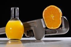 Orange destilliert Lizenzfreie Stockfotografie