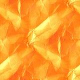 Orange destroyed paper texture Stock Photo