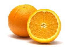 Orange deux fraîche Photos stock