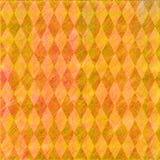 Orange diamond back Stock Images
