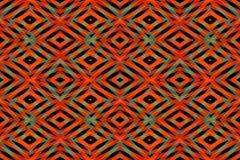 Orange diamond shapes pattern Royalty Free Stock Image