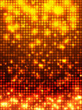Orange disco mosaic background Stock Images