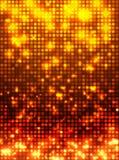 Orange disco mosaic background Stock Images