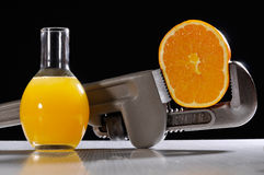 Orange distilled Royalty Free Stock Photography