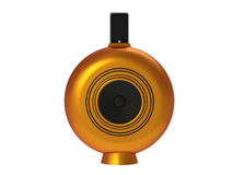 Orange Docking Speaker system Royalty Free Stock Image