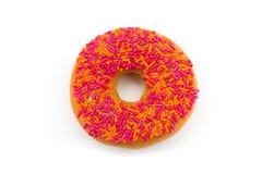 Orange donut Royalty Free Stock Photography
