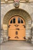The orange door Stock Photo