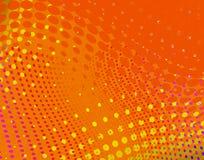 Orange dots Royalty Free Stock Image