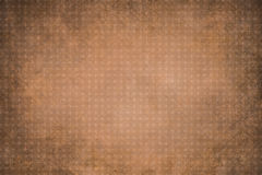 Orange dotted grunge texture, background Stock Images