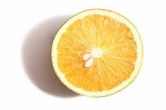 Orange Draufsicht Lizenzfreie Stockfotos