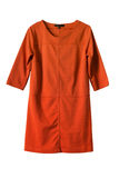 Orange dress Royalty Free Stock Photo