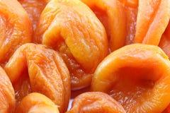 Orange dried apricots Royalty Free Stock Photo