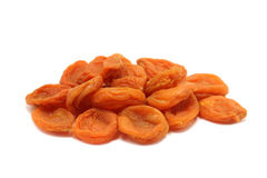 Orange dried apricots Stock Image