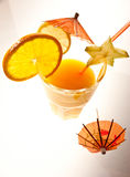 Orange drink Royalty Free Stock Images