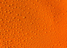 Orange Droplets Texture Stock Images
