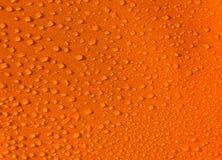 Orange Droplets Texture Stock Images