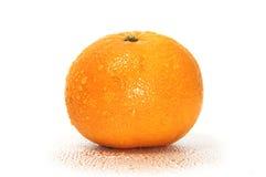 Orange with drops Stock Photo