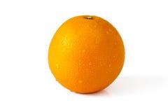 Orange with drops Stock Image