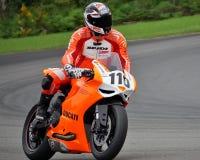 Orange Ducati Stock Images