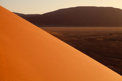 Orange dune in Namib Royalty Free Stock Image