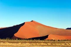 Dune in Namibia. Dune in Namib Desert, Namibia royalty free stock photos
