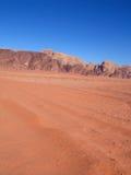 Orange dunes Stock Images