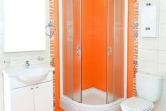 orange dusch Arkivbild