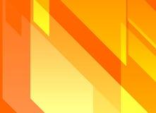Orange dynamischer abstrakter Hintergrund Stockbilder