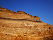 Orange earth and sky Stock Photography