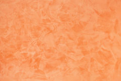 Orange effect painted wall texture background Stock Image
