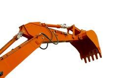 Orange Eimer stockfoto