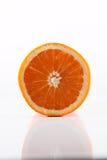 Orange einschneiden beinahe Lizenzfreie Stockfotos