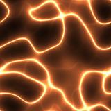 Orange electricity Royalty Free Stock Image