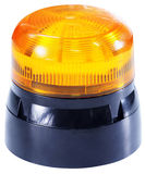 Orange emergency light Royalty Free Stock Photo