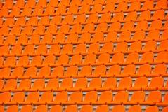 Free Orange Empty Stadium Seats Stock Photos - 14998783