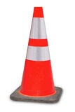 Orange en construction d'erreur du site Web 404 de cône du trafic Photos libres de droits
