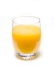 orange en verre fraîche de jus Photographie stock libre de droits
