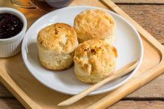 Orange English biscuit Stock Photo