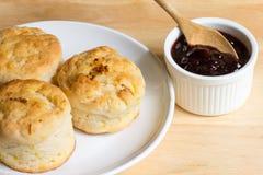 Orange English biscuit Royalty Free Stock Image